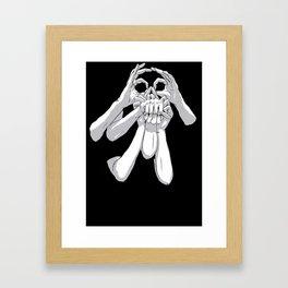 Fingers & Thumbs Framed Art Print