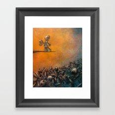 Insanity Framed Art Print