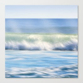 Ocean Wave Crash Canvas Print