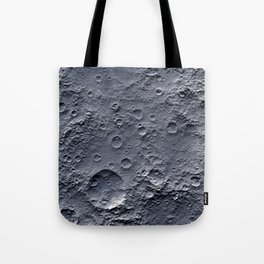 Moon Surface Tote Bag