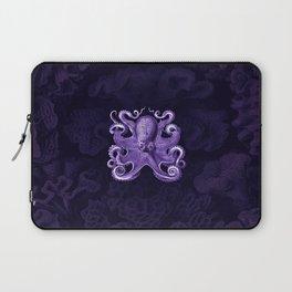 Octopus1 (Purple, Square) Laptop Sleeve