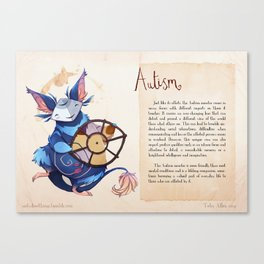 Real Monsters- Autism Canvas Print