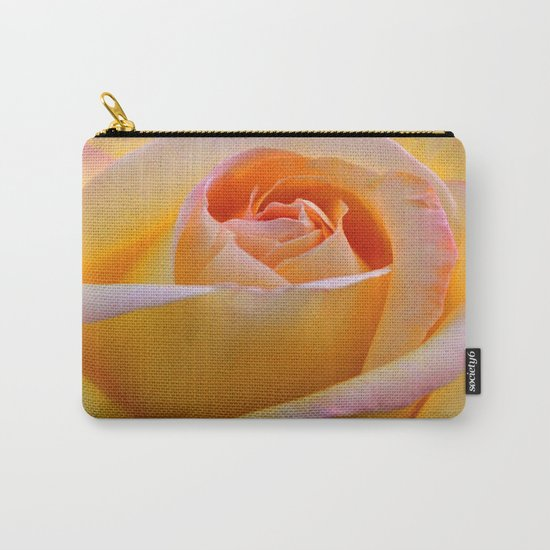 Peace Rose Carry-All Pouch