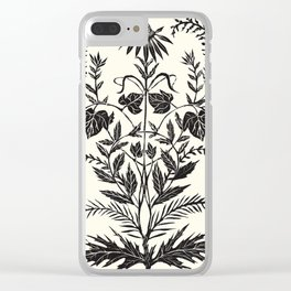 Wild Weeds Clear iPhone Case