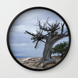 A storm on the horizon Wall Clock