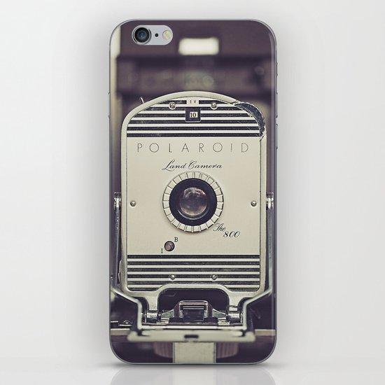 Vintage Polaroid Land Camera The 800 iPhone & iPod Skin