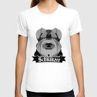 schnauzer T-shirts featuring Schnauzer by mailboxdisco