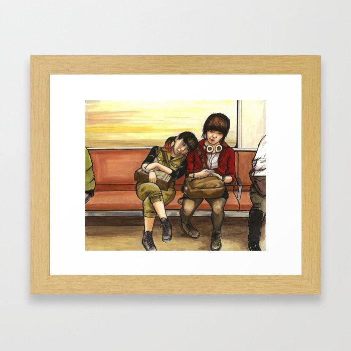 Namba Framed Art Print