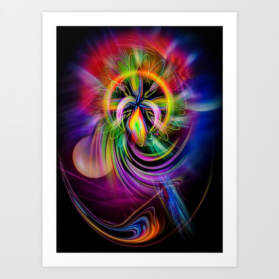 Abstract Perfection 60 Art Print