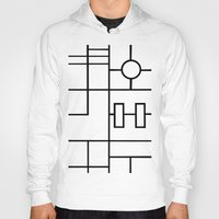 grid Hoodies featuring PS Grid by Project M
