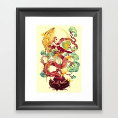 Dreams Astray Framed Art Print