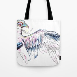 Like soaring through the heavens  Tote Bag