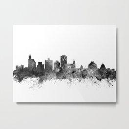 Jackson Mississippi Skyline Metal Print
