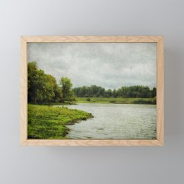 Sauvie Island Framed Mini Art Print