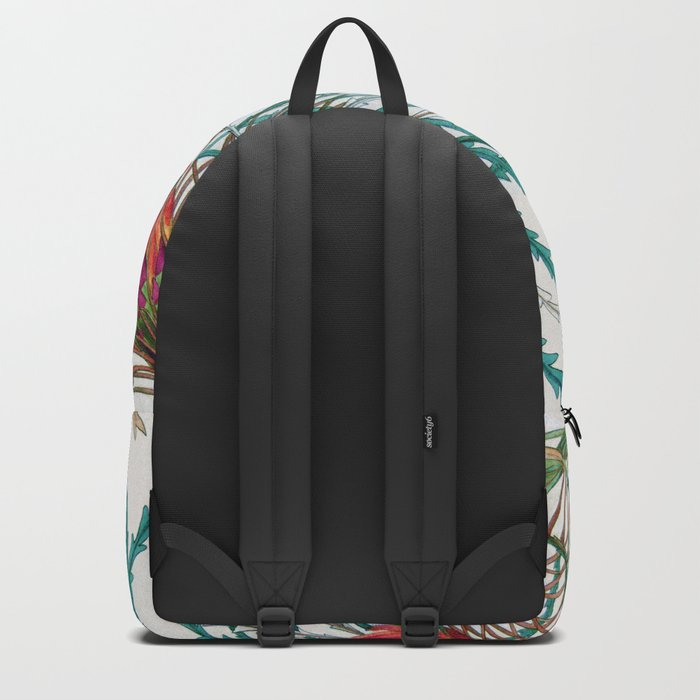 A Protea flower Backpack