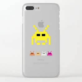 Invaders Clear iPhone Case