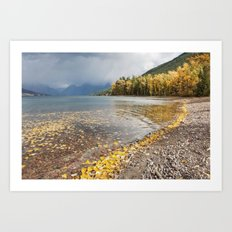 Lake McDonald Art Print