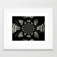 fractal Framed Art Prints featuring Fractal by Aaron Carberry