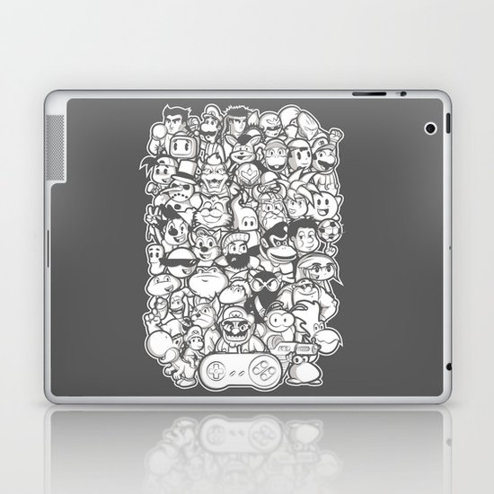 Super 16 bit  Laptop & iPad Skin