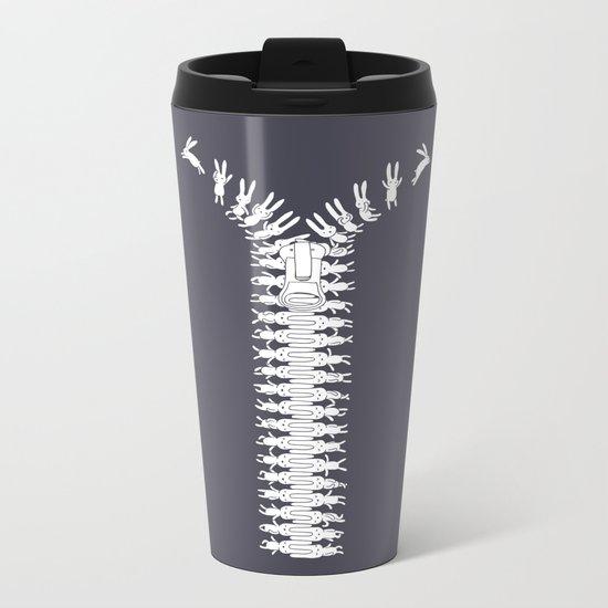 Unzip your imagination Metal Travel Mug