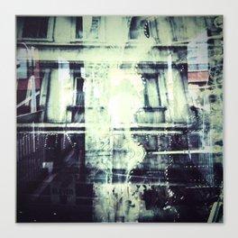 COLLIDING REALITIES Canvas Print