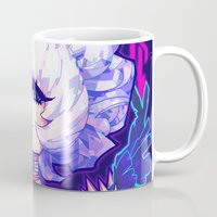 barachan Mugs featuring adamas by barachan