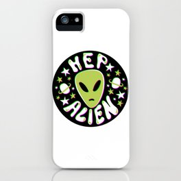 Hep Alien in 3D iPhone Case