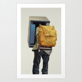Booth Art Print