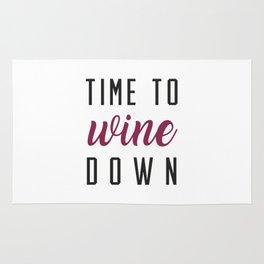 Wine Down Rug
