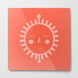 sleepy sun Metal Print