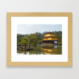 Temple of the Golden Pavilion Framed Art Print