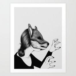 Peculiar IV Art Print