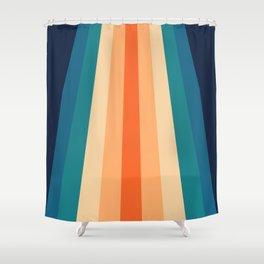 70's Retro Palette Shower Curtain