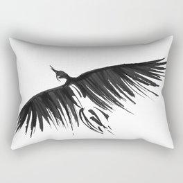 Raven Flight Rectangular Pillow