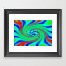 Colours of the Rainbow Framed Art Print