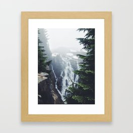 Water on the Mountain Framed Art Print