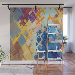 Abstract Composition 674 Wall Mural