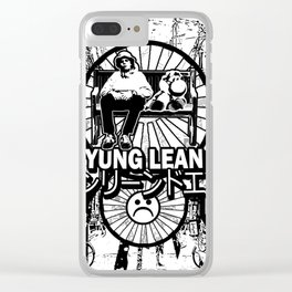 Yung Lean - Yoshi City Clear iPhone Case