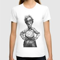 woody allen T-shirts featuring Woody Allen by MK-illustration