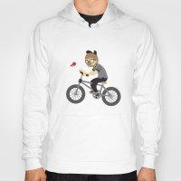 cycling Hoodies featuring Mr.Bongo Cycling by Gunawan Lo