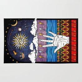 Esoteric prayer Rug