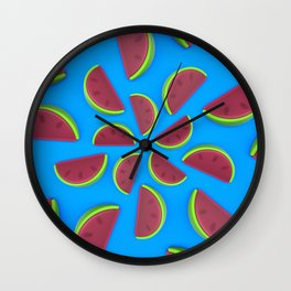 Watermelon Chew Candy Wall Clock