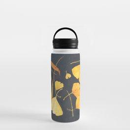 Ginkgo Leaves Water Bottle