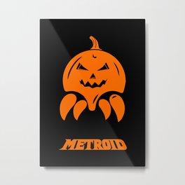 Metroid II Metal Print