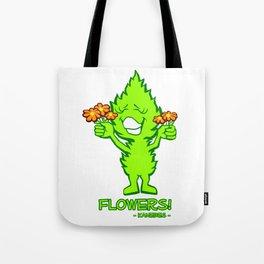Flowers! - Kanebes - Tote Bag
