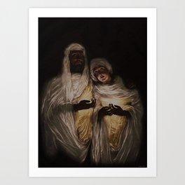 The Apparition by Jeanpaul Ferro Art Print