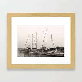 jaffa in the morning Framed Art Print