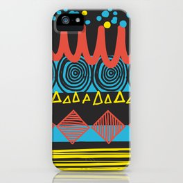 Parallel Shapes iPhone Case