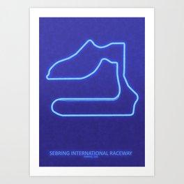 Sebring International Raceway Art Print