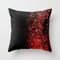 Primary Colors: Red Throw Pillow